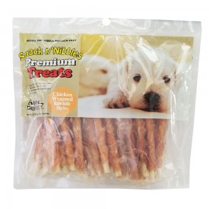 Style: Chicken Wrapped Rawhide Sticks - Pack of 2