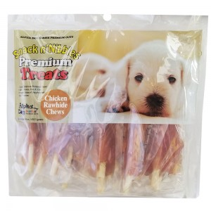 Style: Chicken Wrapped Rawhide Chews - Pack of 2