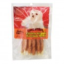Chicken Wrapped Rawhide Sticks - 4oz