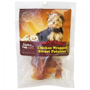 Style: Chicken Wrapped Sweet Potato - 4oz