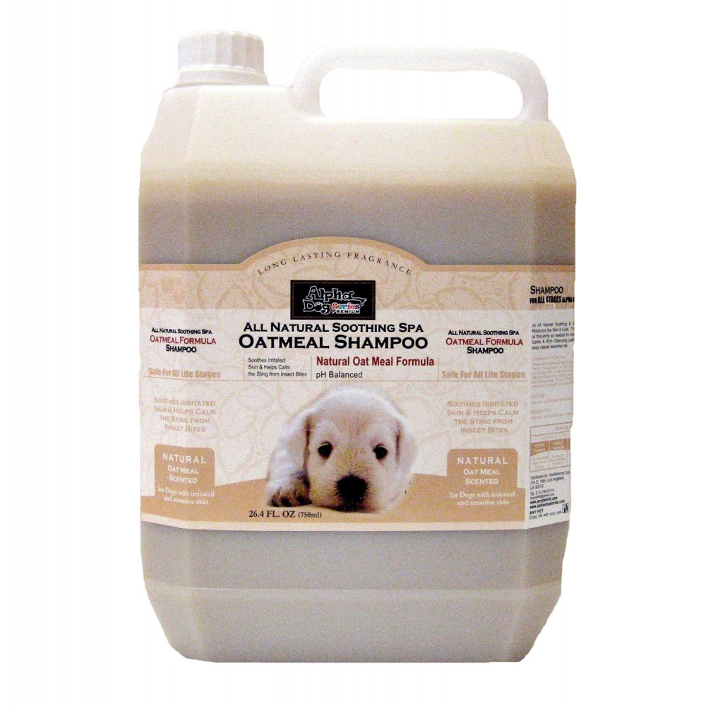 Alpha Dog Series Oatmeal Shampoo & Conditioner_135oz (4L)