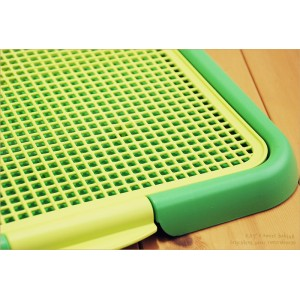 Plastic Mesh Cat Litter Trapper Trays