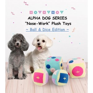 "Alpha Dog Series - ""Nose-Work"" Plush Toys (Dice)"
