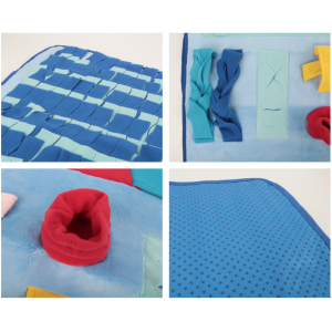 """Nose-Work"" Interactive Foraging Mat Toys"