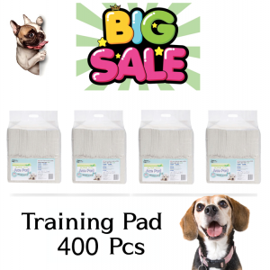"Alpha Dog Series - ""ACE"" Puppy Training Pads - 15.7"" x 19.6"" (400 Count)"