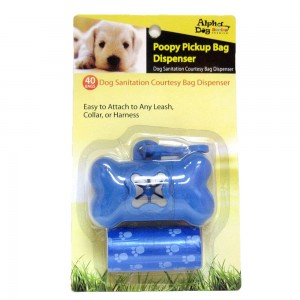 Style: Poopy Bag Dispenser - BLUE