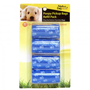 POOY PICKUP BAG REFILL PACK- 80BAGS