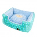 Square Star Bed - Blue