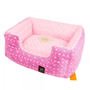 Style: Square Star Bed - Pink
