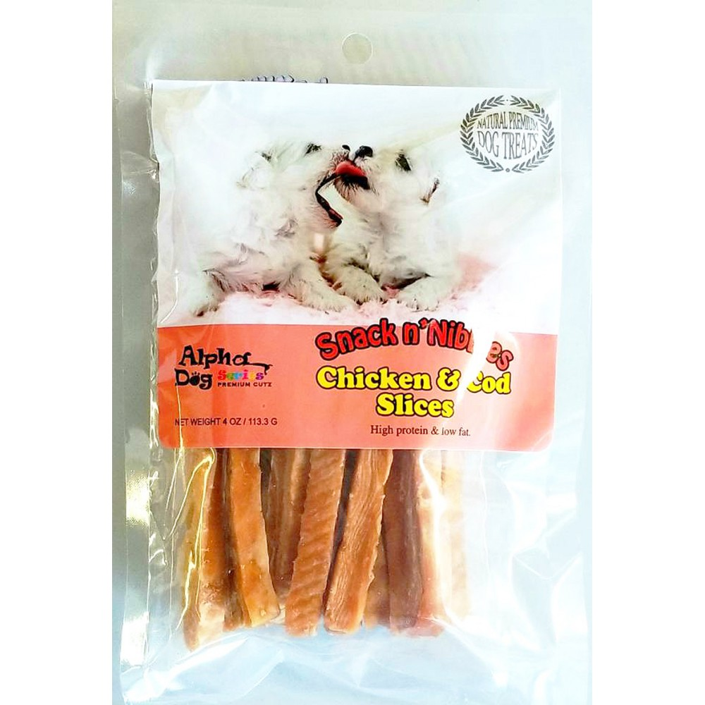 Chicken & Cod Slices - (4oz)