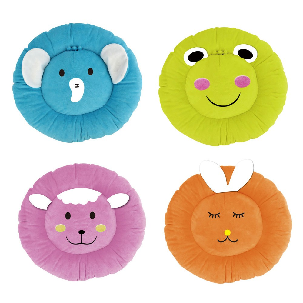 "Alpha Dog Series "" Round Animal Cushions"""