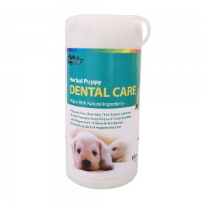 Alpha Dog Series Dental Care Wipes (50pcs)