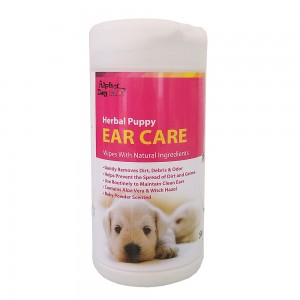 Alpha Dog Series Ear Care Wipes (50pcs)