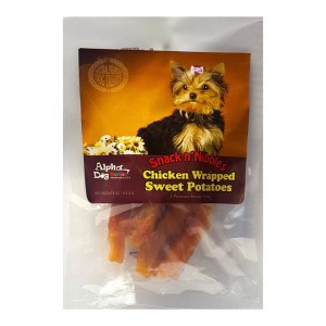 Alpha Dog Series Chicken Wrapped Sweet Potato - 4oz