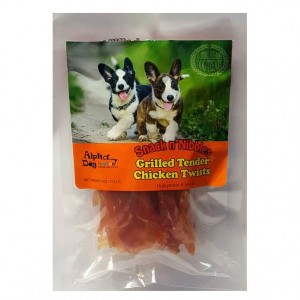 Alpha Dog Series Grilled Tender Chicken Twists - 4oz