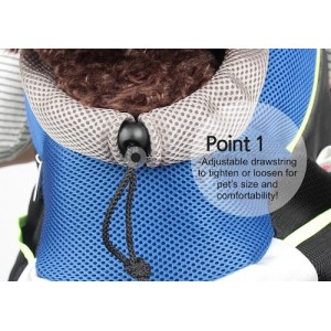 Alpha Dog Series - Dog Mesh Back Pack Carrier