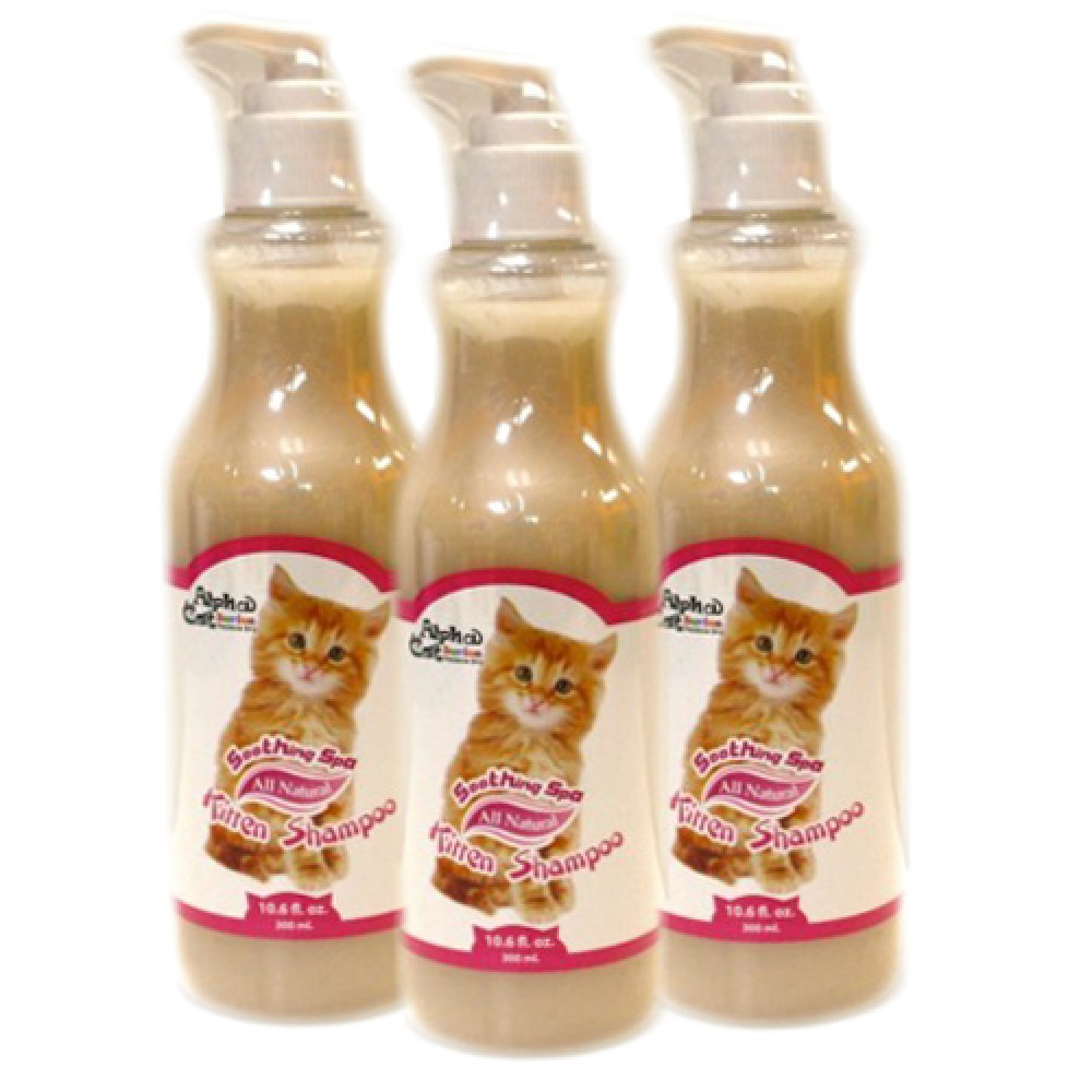 Alpha Cat Series Kitten Shampoo (Pack of 3)
