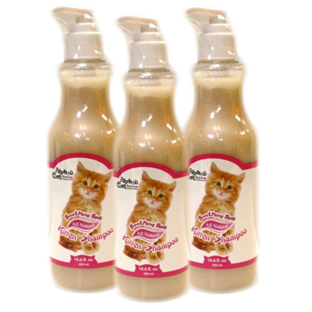 Alpha Cat Series Kitten Shampoo (Pack of 3)
