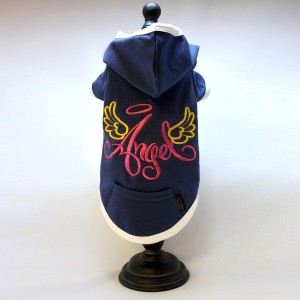Angel Embroidery Hoody T-Shirt
