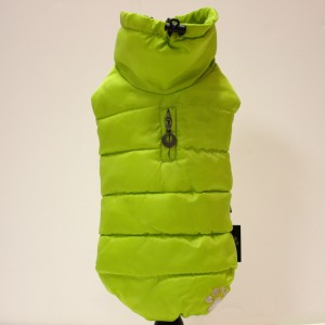 Alpha Dog Series Parka Vest_Neon Yellow