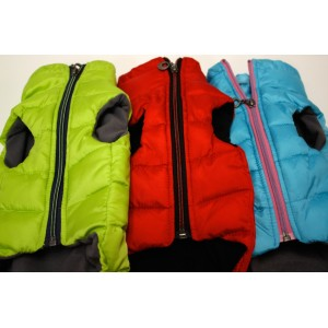 Alpha Dog Series Parka Vest_RED