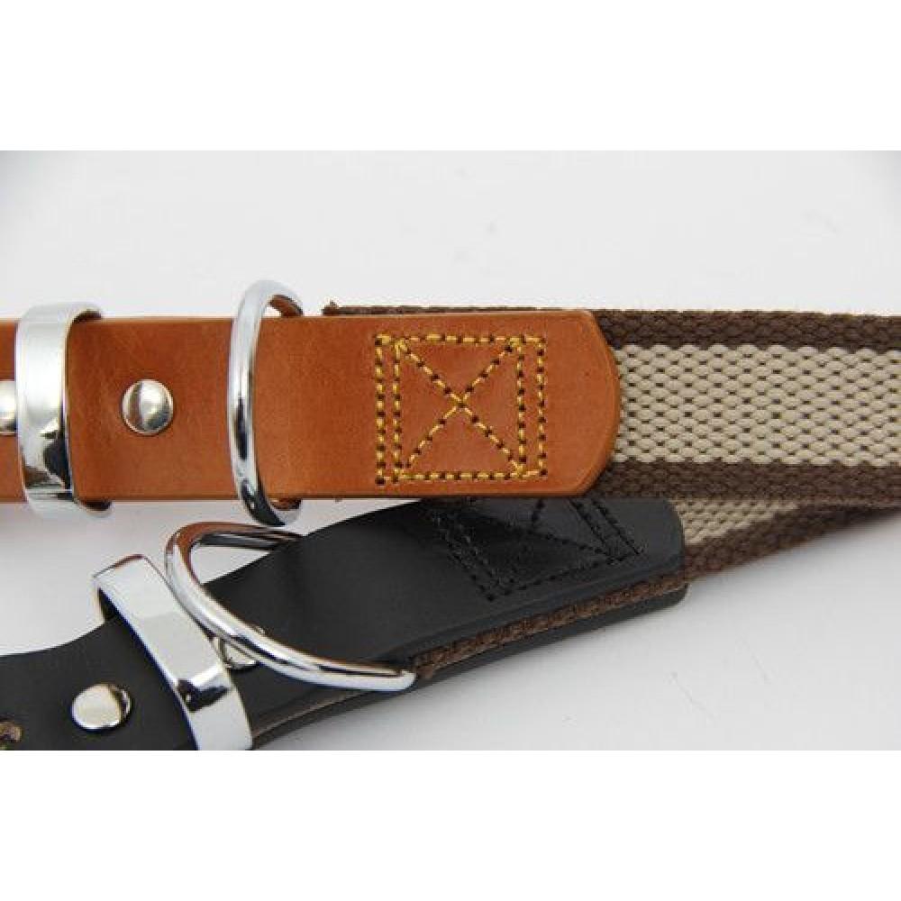 Luxury Nylon Amp Leather Dog Collars