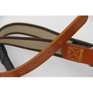 Luxury Nylon & Leather Dog Collars