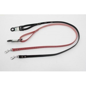 Luxury Leather Cubic Zirconia Studded Dog Leash