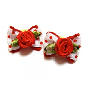 Alpha Dog Series Rose pin - Band Type  (SET OF 5) - 2 PIECES OF EACH COLOR
