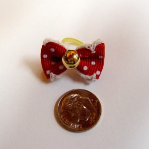 Alpha Dog Series 20pc. Hand-Made Pearl Bows