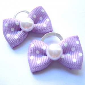 Polka pearl Pin - Band (Set of 4) - 2 Pieces of Each Color