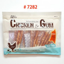 7282-Chicken Wrapped Rawhide Sticks(8oz)
