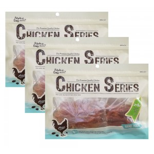 Alpha Dog Series Grilled Tender Chicken Twists - 8oz (Pack of 3)
