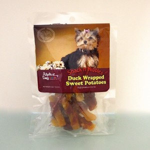 Duck Wrapped Sweet Potatoes-4oz