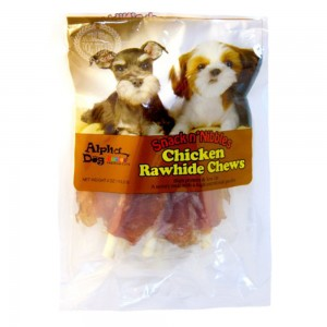 Chicken Wrapped Rawhide Chews 4oz