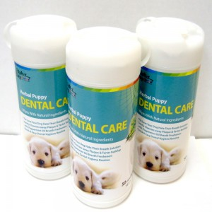 Alpha Dog Series Dental Care Wipes (50pcs) - Pack of 3