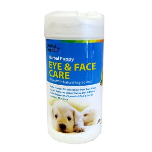 Alpha Dog Series Eye & Face Care Wipes (50pcs) - gift